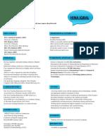 HINA CV pdf