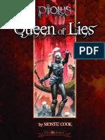Queen of Lies Lvl 11 Pathfinder