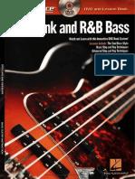 Hal Leonard - At a Glance. Funk and R&B Bass