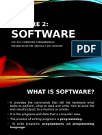 CSC 101 Lecture 2 Software