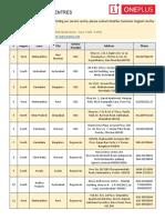 One Plus Service Centers.pdf