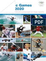 Tokyo 2020 Olympic Programme Commission Report