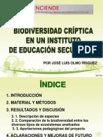 Enciende 3r Premio Biodiversidad Críptica