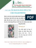 Mẫu Ốp Lưng Điện Thoại Galaxy Note 4 Handmade Chuyên Nghiệp