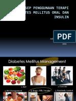 Terapi Oran Dan Insulin