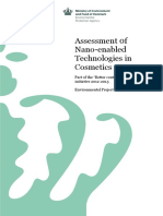 Assessment of Nano-Enabled Technologies in Cosmetics