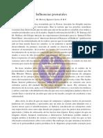 Influencias Prenatales - Dr. Harvey Spencer Lewis, f. r. c.