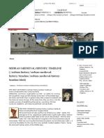 Timeline | Serbian Medieval History