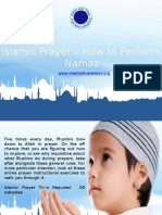 Islamic Prayer-How to Perform Namaz