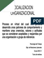 Socialización Organizacional