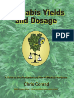 Chris Conrad - Cannabis Yields Dosage