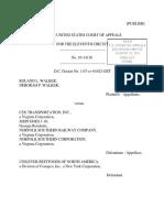 Roland L. Walker v. CSX Transportation, Inc., 11th Cir. (2011)