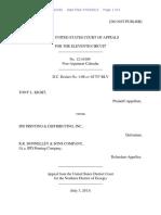 Tony L. Kight v. R.R. Donnelley & Sons Company, 11th Cir. (2013)