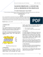 Study of Talc Filled Polypropylene- A Concept for Improving Mechanical Properties of Polypropylene
