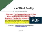 Matrix of Mind Reality