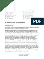 Howard Zemsky ESD Response to Electeds June 2016 Letter