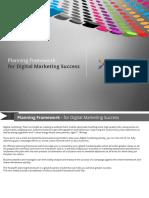 Planning Framework for Digital Marketing Success