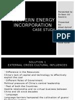 Western Energy Incorporation