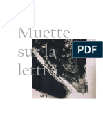 Muette Sur La Lettre