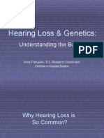Hearing Loss Genetics II Web