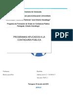Programotecas de programas contables