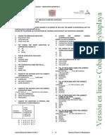 Evaluación Diagnóstica 3er Semestre