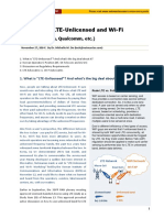 Debates on LTE-unlicensed and WiFi (KT, SK Telecom, Qualcomm)