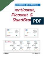 Potentiostat, Picostat & QuadStat