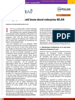 Things You Should Know About Enterprise WLAN