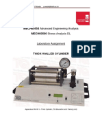 Thick Cylinder Laboratory Exercise