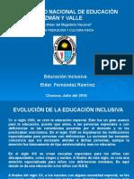 Educacion Inclusiva 2016