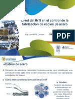 11 Rol de INTI en Control de Fabricacion Cables Acero