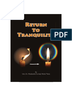 Return to Tranquility Ven.punnaji