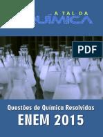 Questões de Química Do ENEM 2015