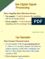 66395636 Multirate Dsp Presentation