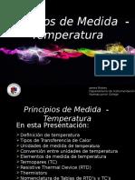 Principios de Medida Temperatura