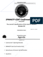 SPMAGTF-CENT Confirmation Brief, Version 2.0