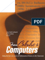 (MAA Notes 68._ MAA Notes No. 68) Jardine, Dick_ Shell-Gellasch, Amy-From Calculus to Computers _ Using 200 Years of Mathematics History in the Teaching of Mathematics-Cambridge University Press [Dist