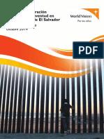 WORLD VISION - Motivos de Migracion de La Ninez y Juventud en 27 Municipios de El Salvador