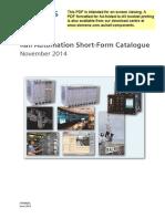 Short Form Catalogue