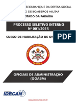 Oficiais de Administração (Qoabm)