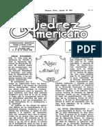 El Ajedrez Americano #47