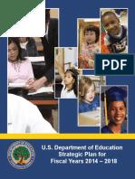 US Department of Education Strategic Plan