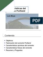 Características Del Cemento Portland-Luis Moya