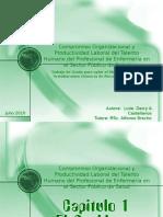 Compromiso Organizacional y Productividad Laboral