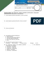 evaluacion quimica 2sec