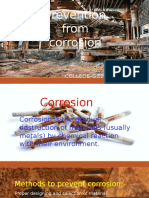 Prevention From Corrosion