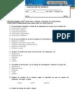 evaluacion quimica 6