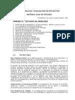 Unidad II. Estudio de Mercado