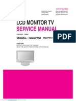 LG Monitor TV m237wd Service Manual